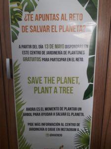 Nos unimos al RETO, salvar el planeta plantando un árbol, te esperamos :)